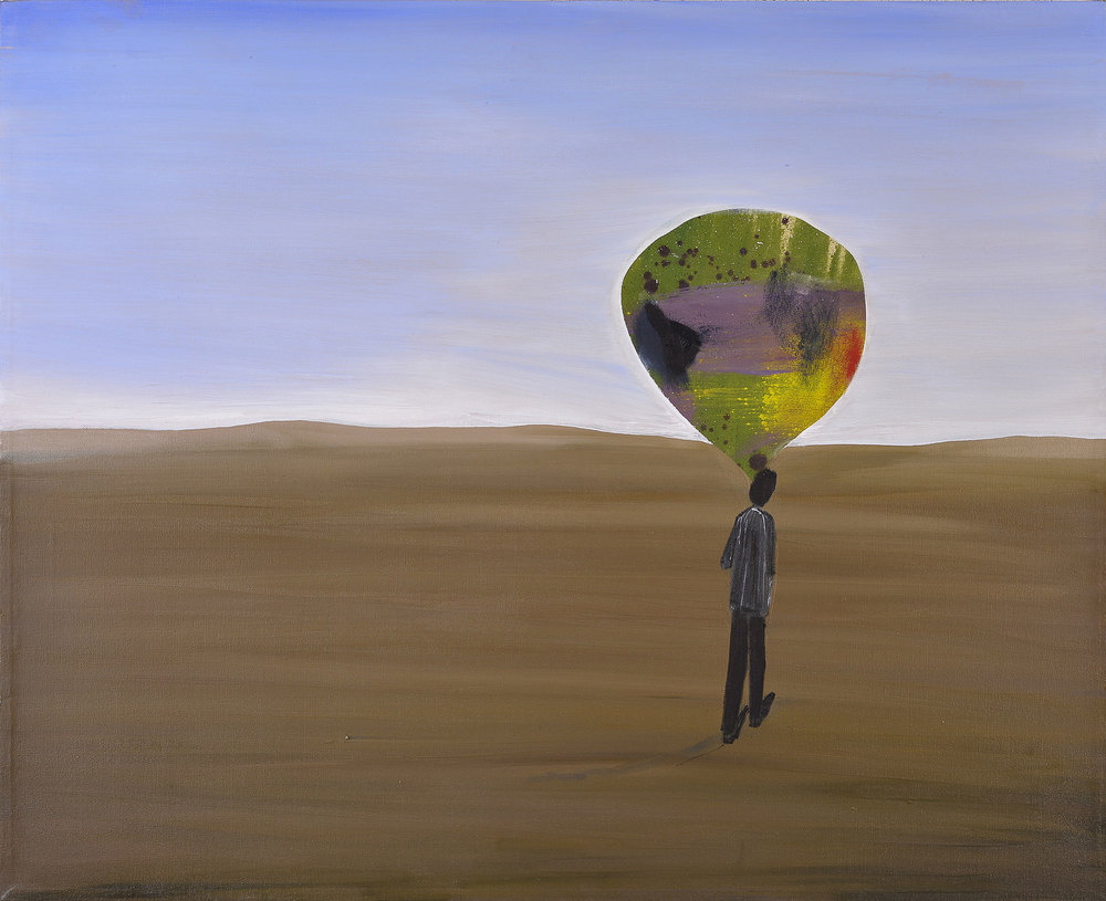 Where to?, 2015    Oil on canvas, 111x90 cm