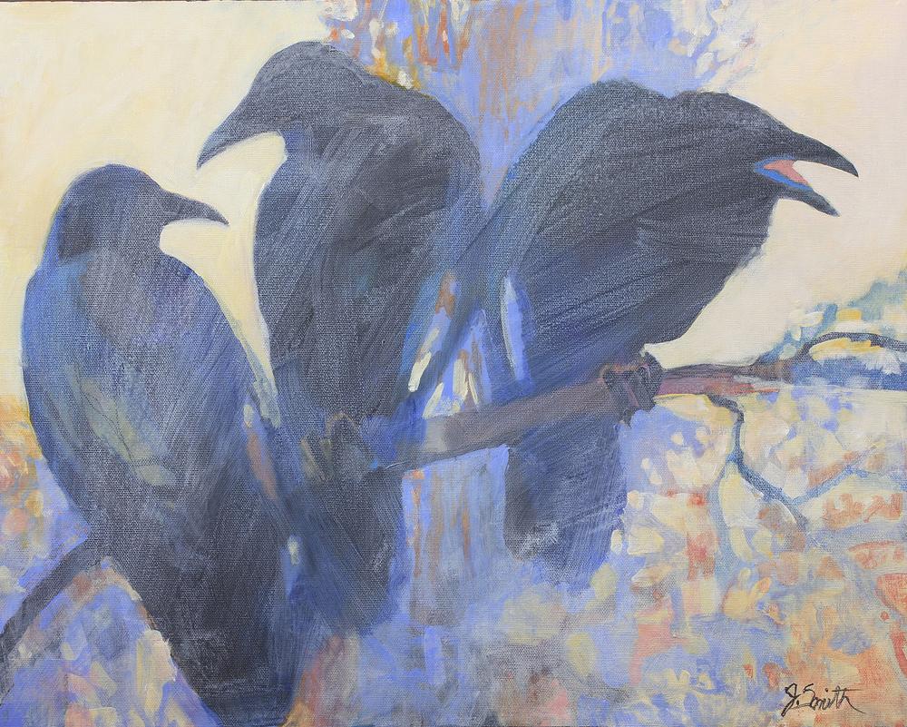 Ravens in the Mist