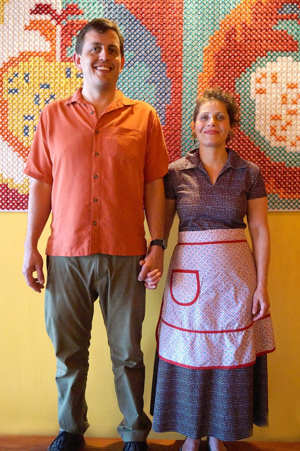Robert Gott and Mica Talmor-Gott, owners/chefs