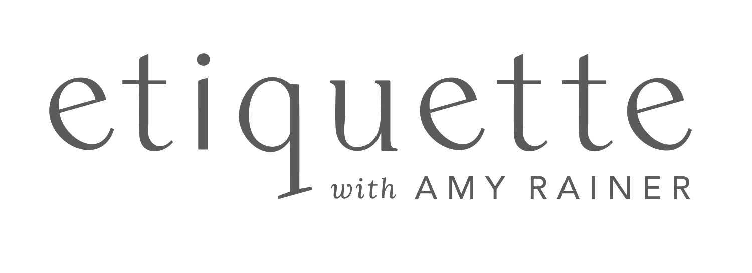 Etiquette with Amy Rainer