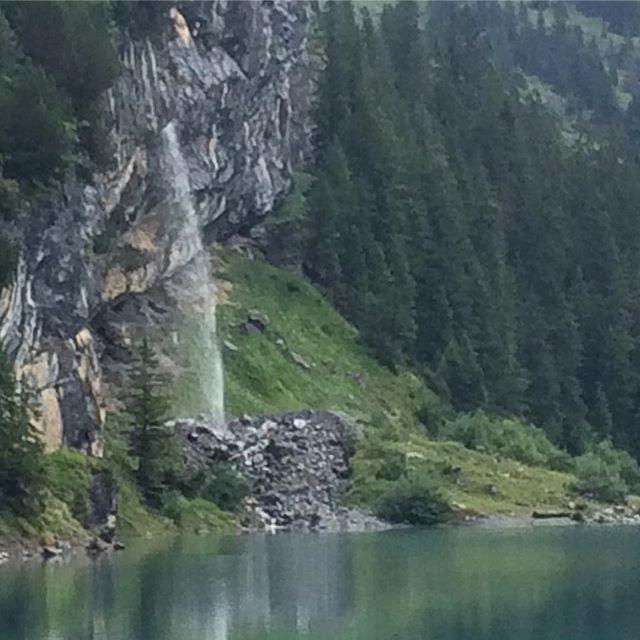 #waterfall #oeschinensee #kandersteg #switzerland