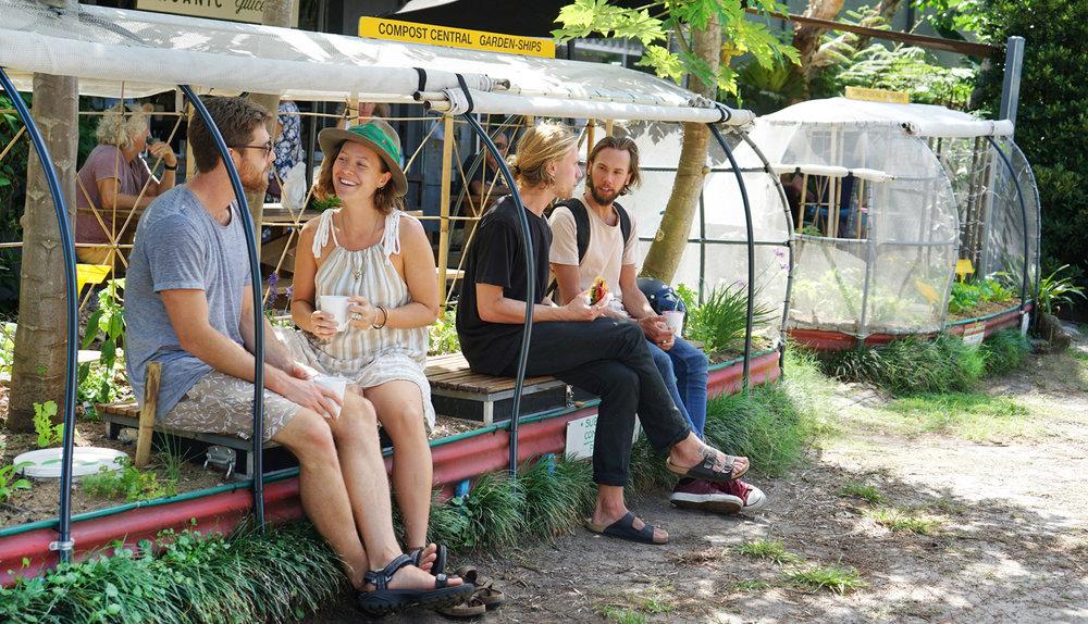 Garden Ships at Santos Organics
