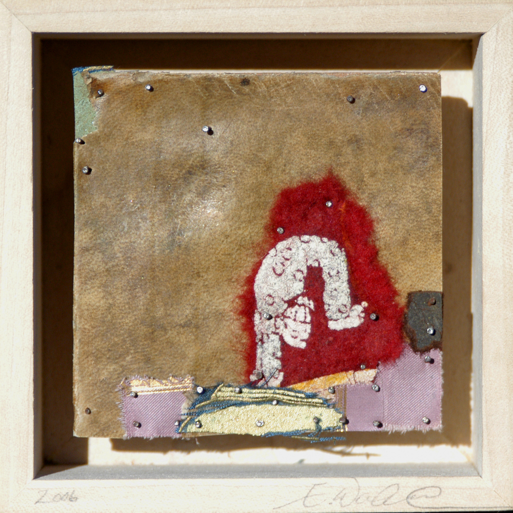 Acrobat, Christ Circus Series, 2006, mixed media on wood, 3X3in, web.jpg