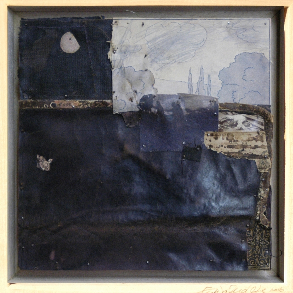War Series, God and Moon, 2006, 7X7in, mixed media, nails on wood, web.jpg