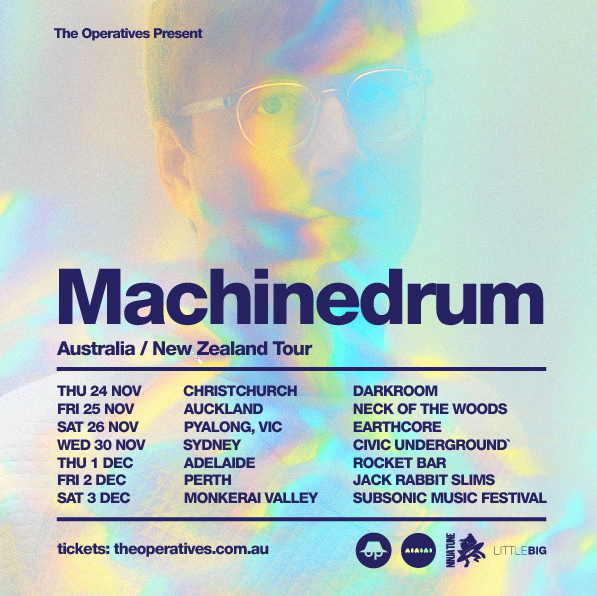 Machinedrum 2016 Tour