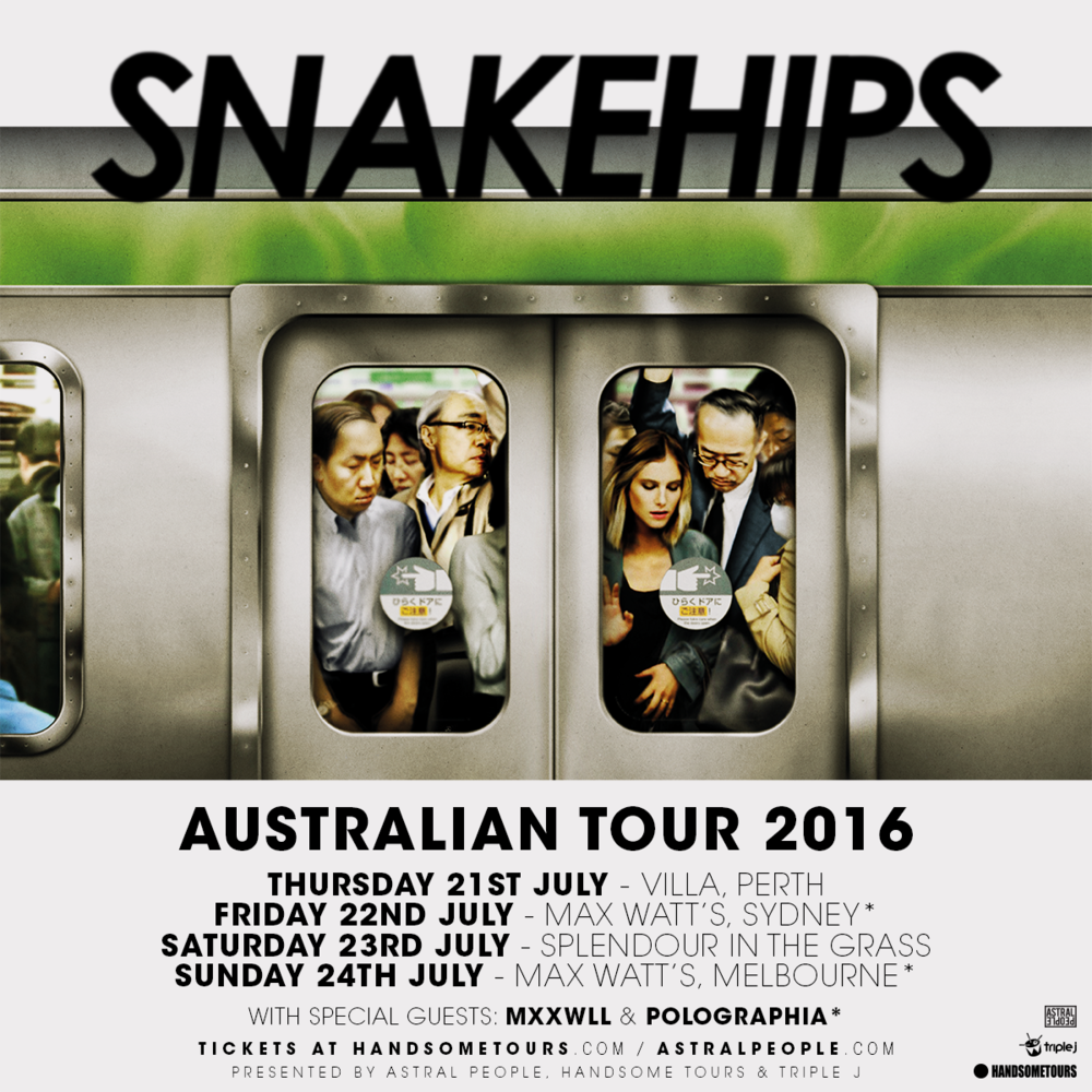 Snakehips 2016 Tour