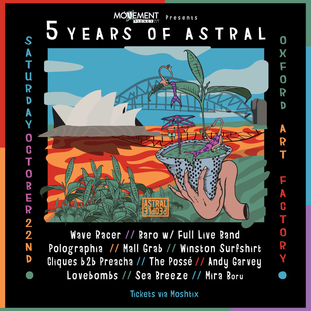 5 Years of Astral Event Publicity