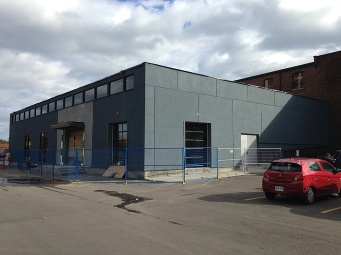 Brewery in progress at 128 Sterling Rd. Toronto