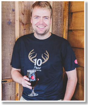 Darren Smith, President of Lake of Bays and vice Chair of Ontario Craft Brewers