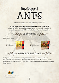 Rules for ANTS