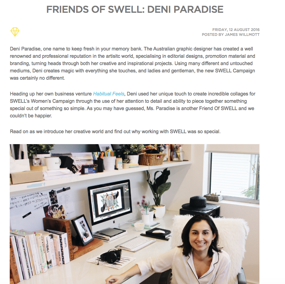 Friends of Swell feature