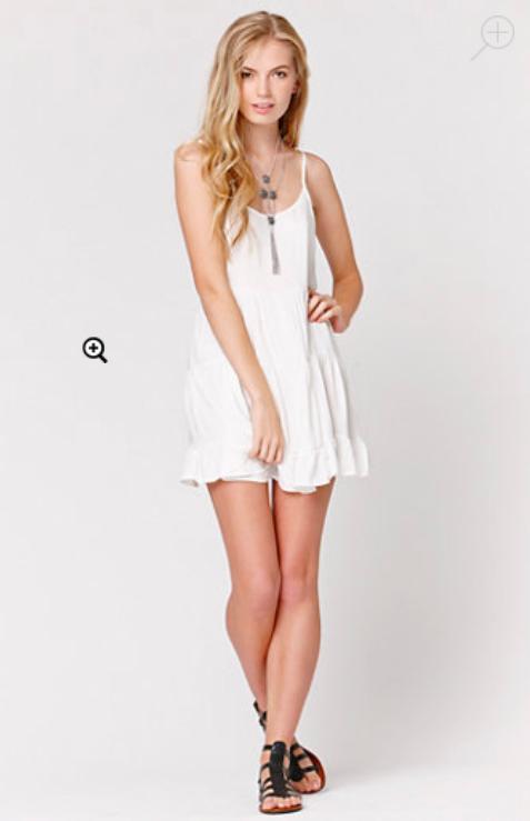 LA Hearts Tiered Babydoll Dress $33.95