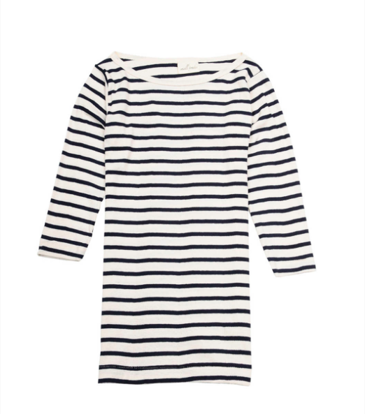 3/4 sleeve stripe tee by Small Trade
