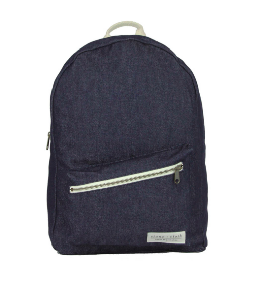 Denim Canvas Backpack by Stone + Cloth