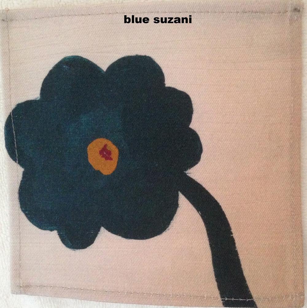 blue suzani