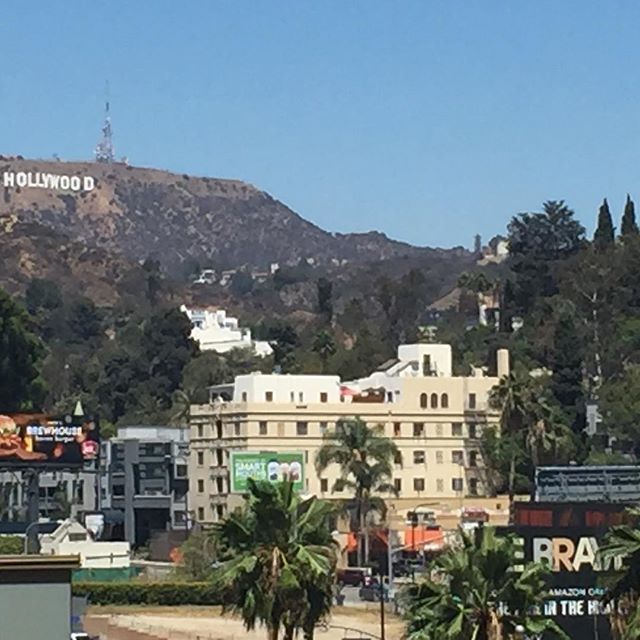 Hello #Hollywood! Playing tonight #atthebowl with McBride's Big Band. Gonna be #fun! #quicktrip #heretoday #gonetomorrow #lovethis
