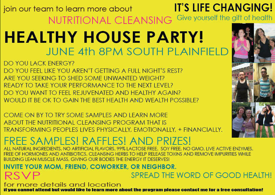 healthyhouseparty