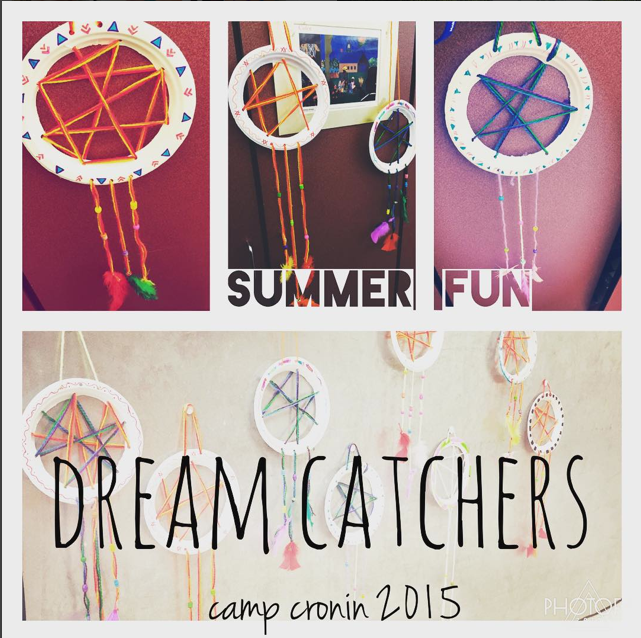 Summer Fun Camp 2015 DreamCatchers