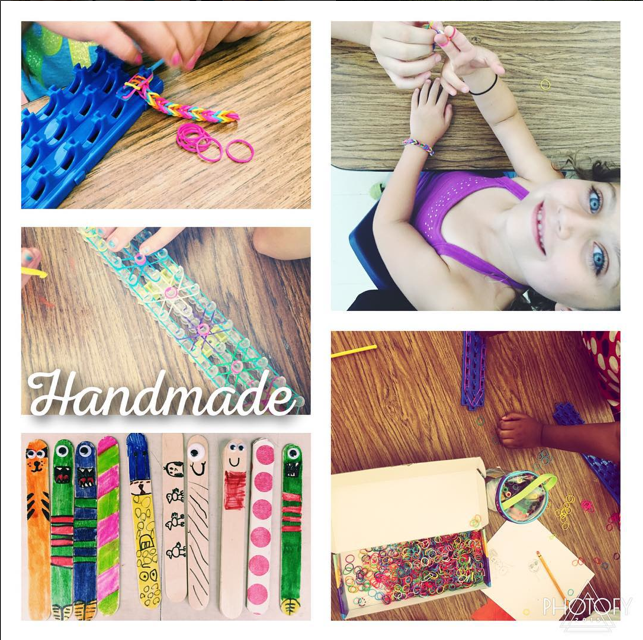 Summer Fun Camp Cronin 2015   Monster Sticks + Rainbow Loom!