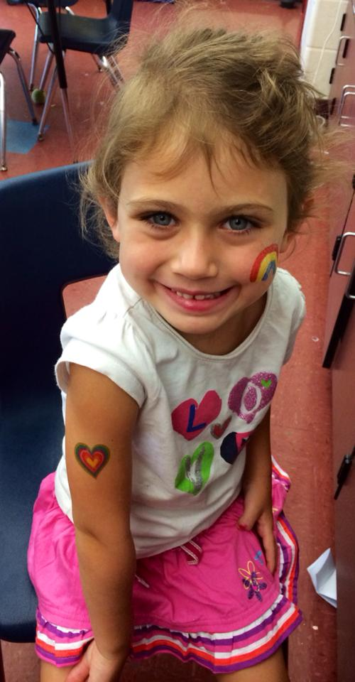 Sky @ Summer Fun Camp Cronin 2014 Facepainting + Tattoos