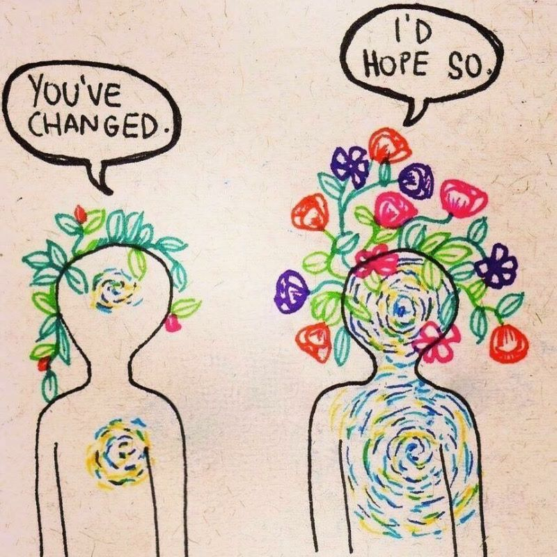 •Mindful Tip• {There is always room for change and growth} ��☺�