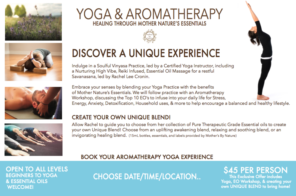 yoga aromatherapy workshop