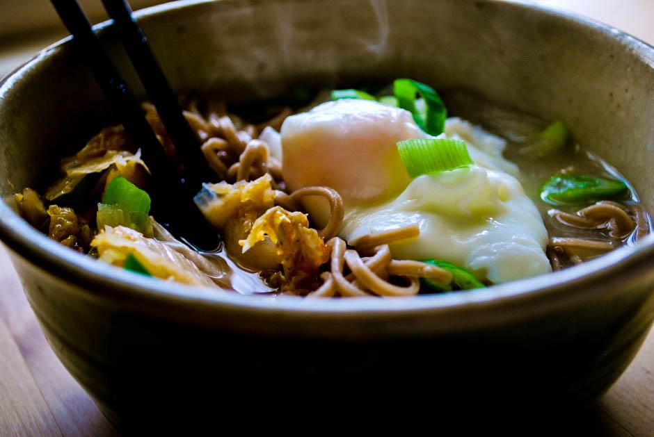 Kimchi Noodle Bowl