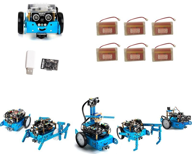 1st Prize... - mBot with WiFi and rechargeable batteries set of sixmBot is a beginner robot kit from MakeBlock who offer a range of mechanical, electronics and robotics parts that could be used to design your own custom robot. Graphical and Arduino programming is available, providing a really fun way to learn programming by teaching your creation to do your bidding!!www.pakronics.com.au/makeblock
