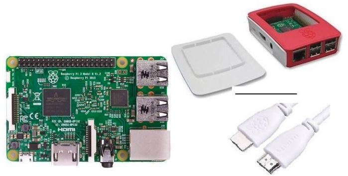 3rd Prize: Raspberry Pi 3 Kit - A computer and a micro-controller in one! Control the internet of things (home lighting and automation), or simply use it as a computer! With a Raspberry Pi the uses are endless!