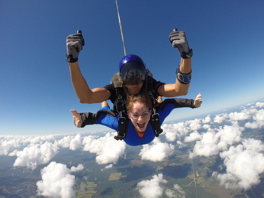 parachuting and private skydiving centers Skydive perris has been a leader in the sport parachuting industry  have utilized civilian skydiving centers to  a private airport that is not.