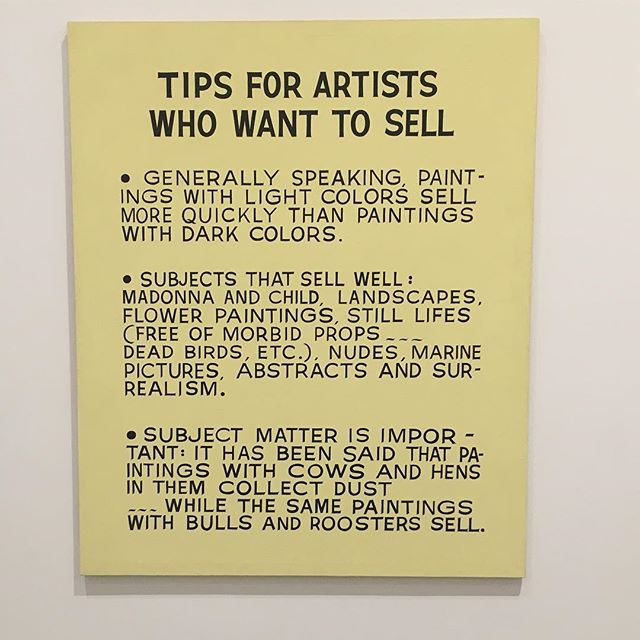 #tipsforartists #baldessari