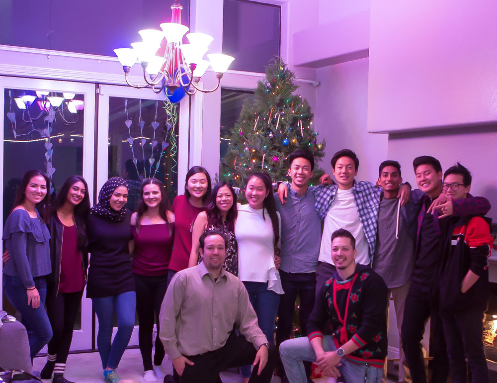 Christmas with my seniors. We have known these students from 4-9 years. Some we have seen them every other day for all those years. This is our Breakthrough Family.