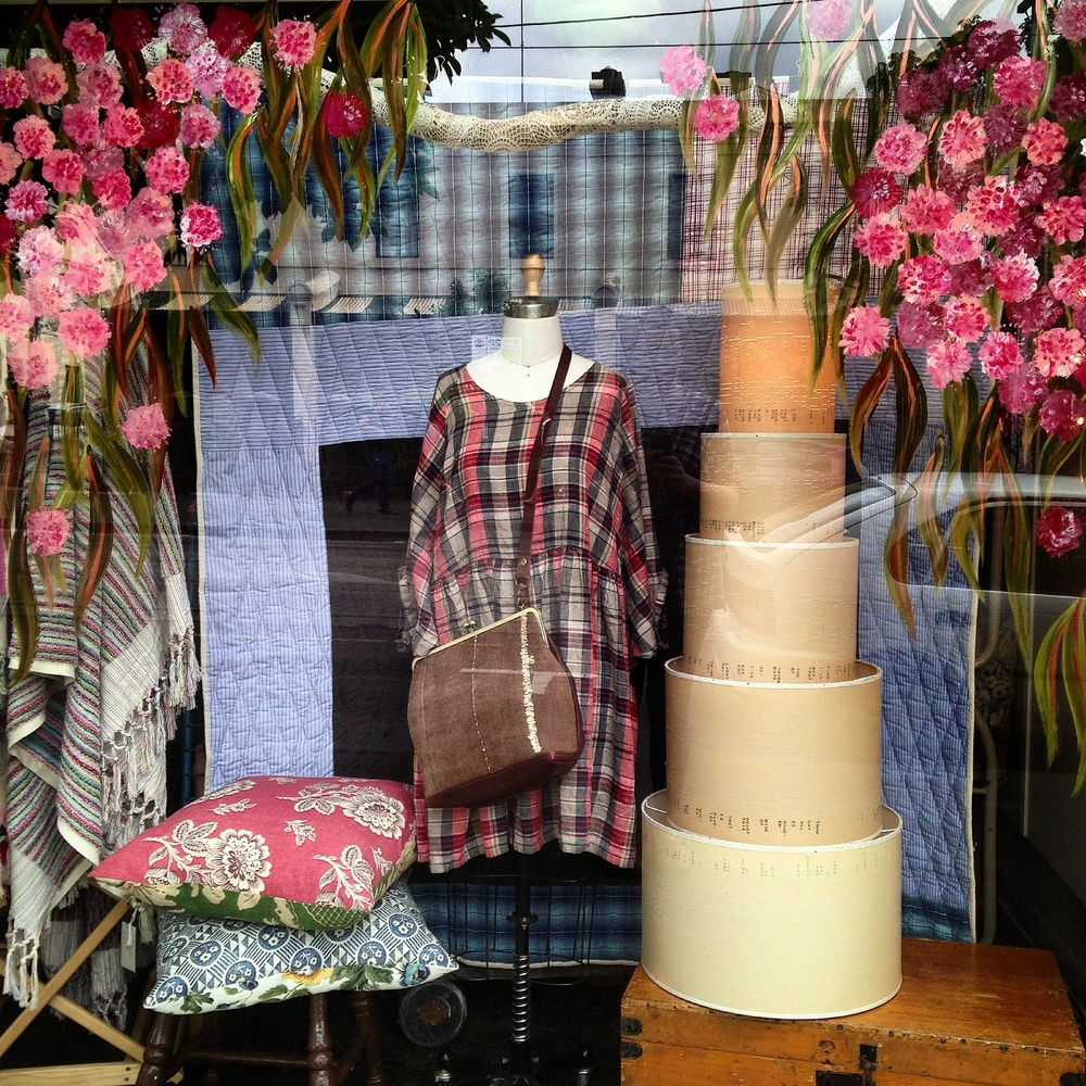 Cottage Industry is a little shop on Gertrude Street, Fitzroy.  It is a curated space featuring work designed and made in our studio in Fitzroy and product sourced from around the world. We support beautifully designed fair trade products and our love of natural and vintage textiles is the driving force behind our 'Cottage Industry' and 'Penelope Durston' labels.