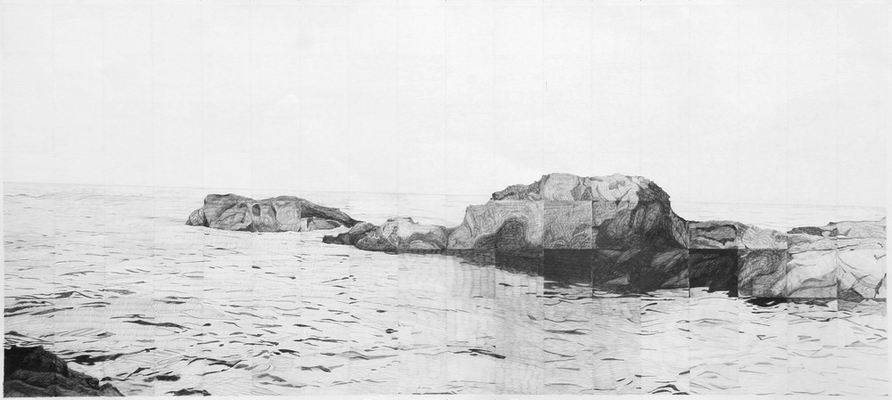 2005-6, graphite on paper,107 x 234 cm (42 x 92 in), Collection Bear Erickson