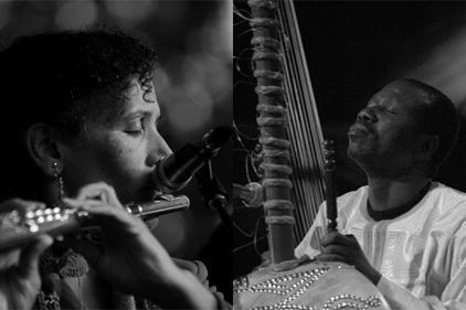 Nicole Mitchell and Ballake Sissoko: Bamako*Chicago Sound System - Saturday, September 23, 3:00-4:00 & 5:45-6:45pmLogan Center for the Arts: Performance Hall