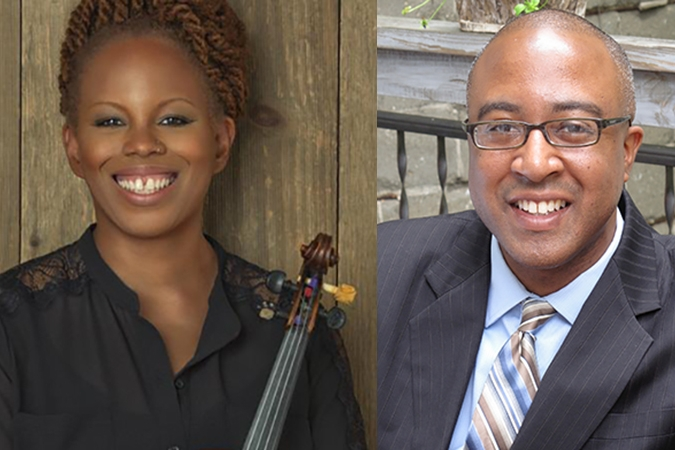 Regina Carter & Xavier Davis - Saturday, September 26, 11pm-midnightRockefeller Chapel