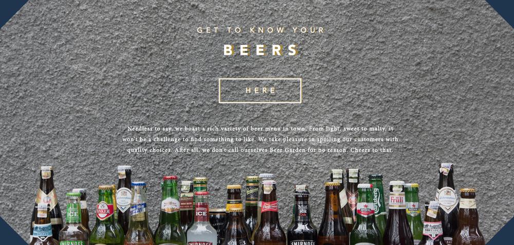 Beer Header