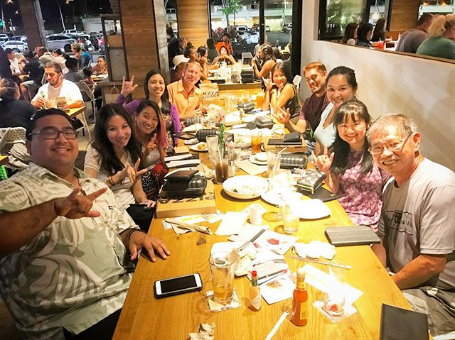 ASL dinner with my students aka friends!! #CPK #CPKmililani #dinner #asl #aslhi #aslhawaii #hawaiiasl #asllessons #aslbeginners #proudteacher #celebration