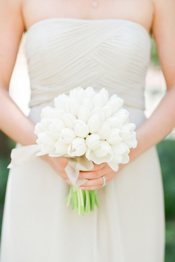 Floral 15 images of simply chic elegant single bloom for Wedding bouquet tulips and roses