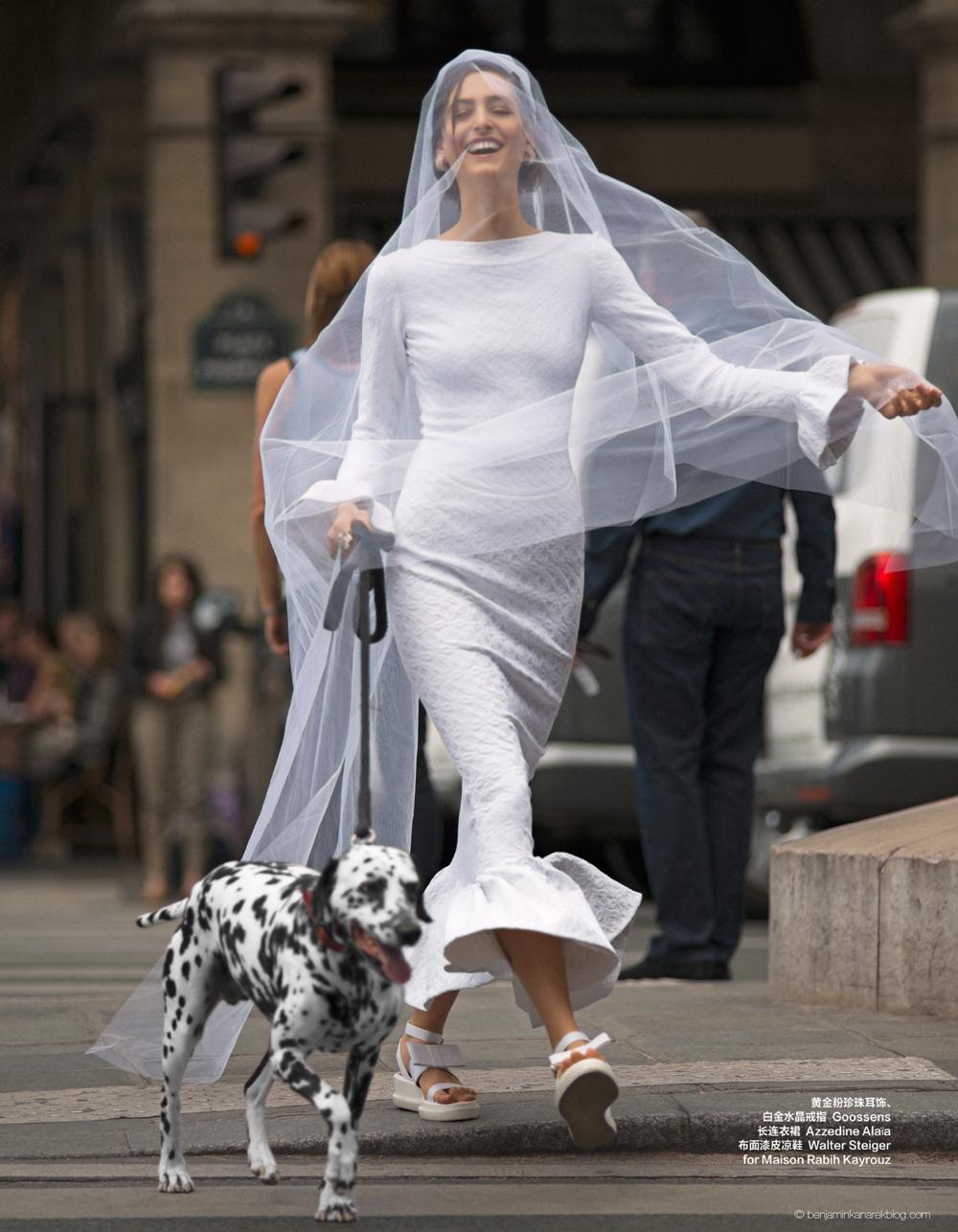 azzedine alaia dalmatian wedding