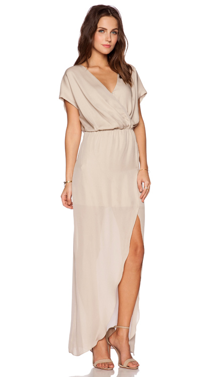 Rory Beca MAID by Yifat Oren Plaza Gown in Nude