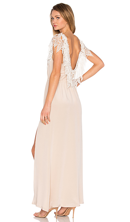 STONE COLD FOX | Penelope Gown in Nude