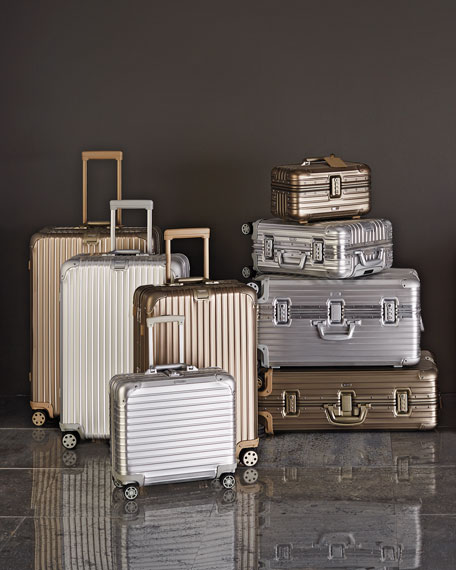 Rimowa North America Topas Silver and Gold