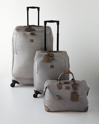 Bric's Life Frosted Silver Luggage