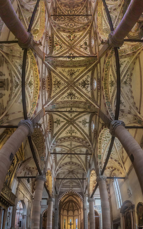 Basilica of Santa Anastasia, Verona, Italy