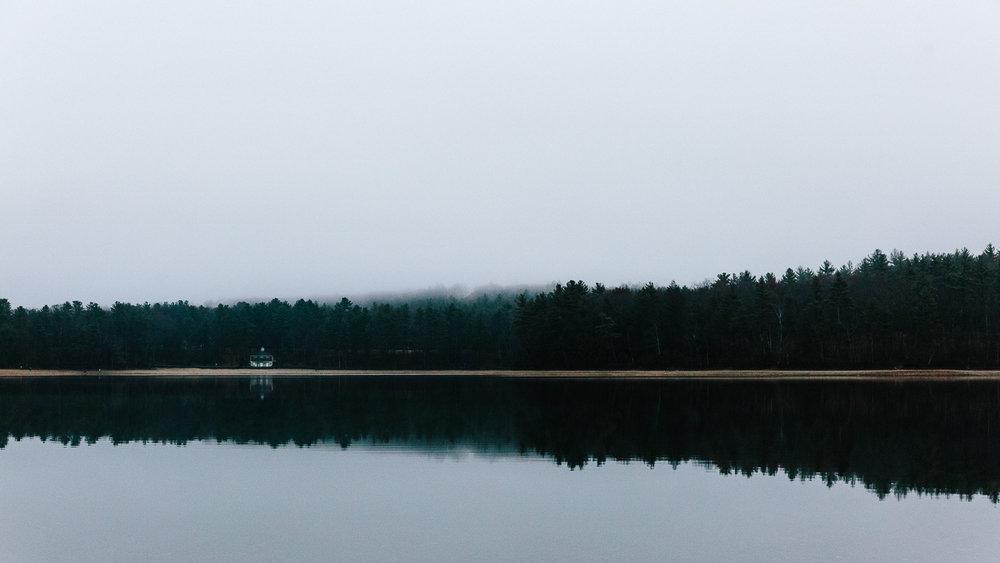 Walden Pond, Concord, USA