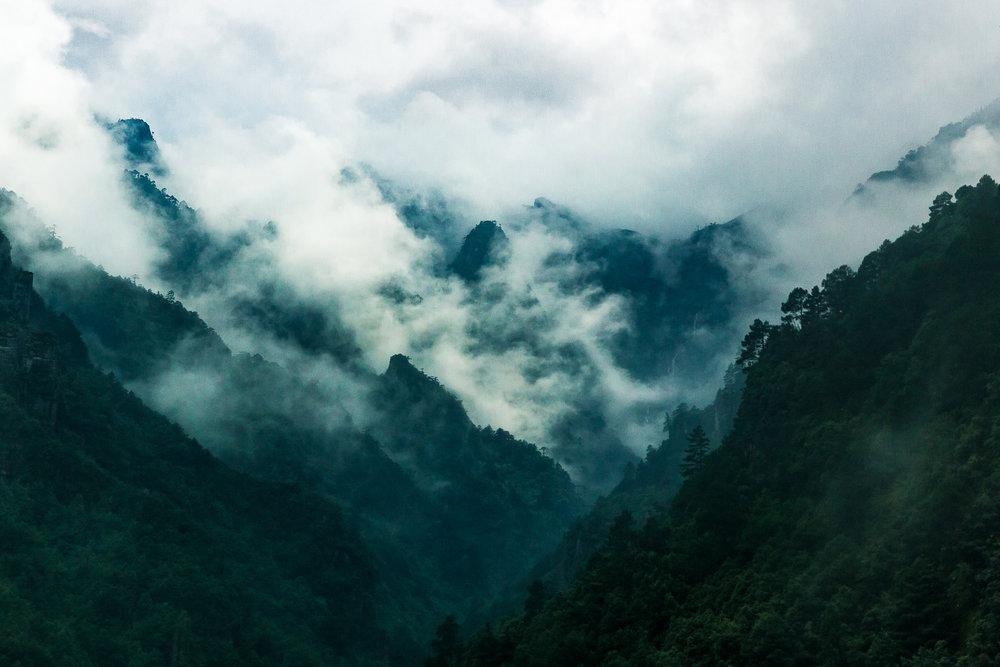 Cang Mountain, Dali, China