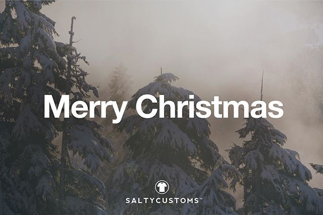 Merry Christmas and Happy New Year! #Saltycustoms