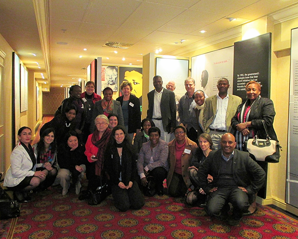 RIATT-ESA partners at the RIATT-ESA partners meeting, June 2014, in Johannesburg, South Africa