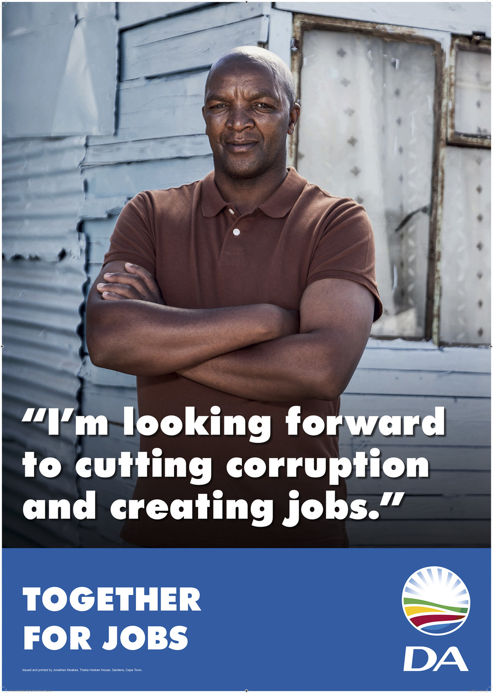 Democratic Alliance election poster